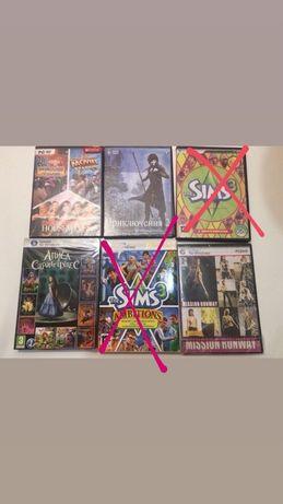 Продам игры для девочек, а так же The Sims 3 + дополнения