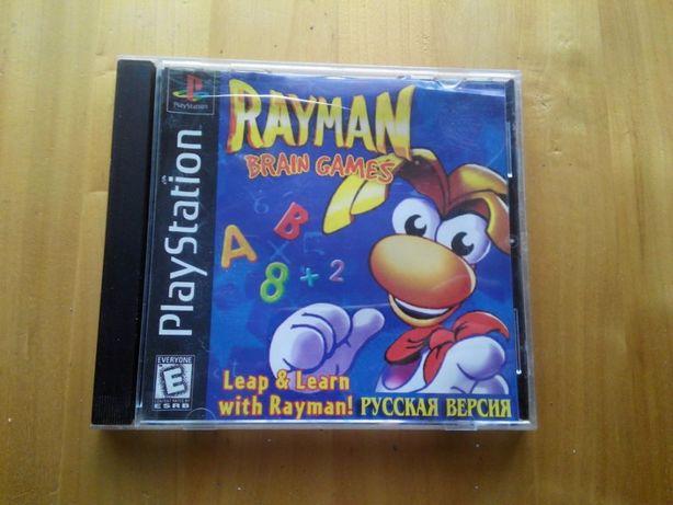 диск Rayman Brain Рейман ps1 ps one
