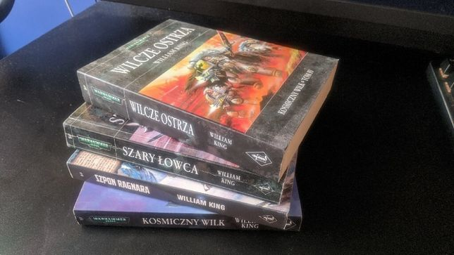 Warhammer 40k Cykl Kosmiczny Wilk 1-4 William King