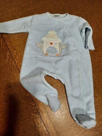 F&F pajac piżama j.nowy 0-3M r. 56-62