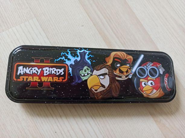 Piórnik metalowy Angry Birds