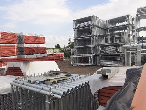 Rusztowanie Plettac 300 m2