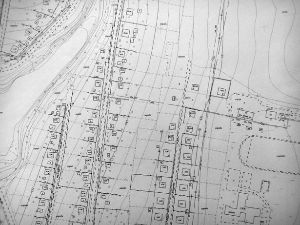 Топографічна зйомка 1:500 , Кадастрова зйомка, План земельної ділянки