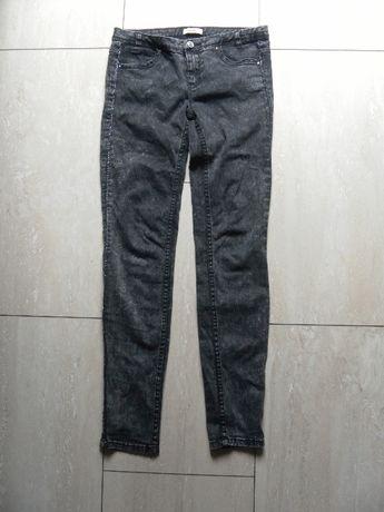 Szare rurki spodnie melanż Pull&Bear 36,S