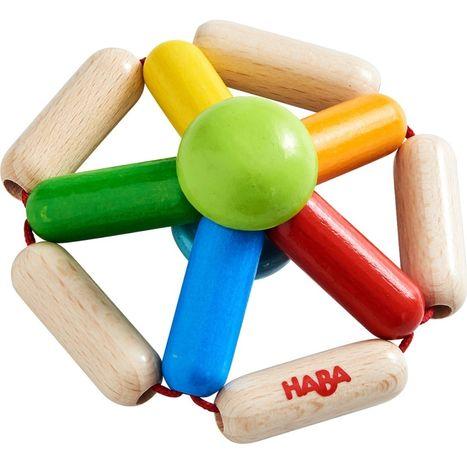 Drewniana karuzela zabawka HABA dla niemowlaka Nowa