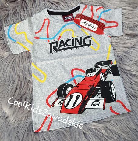 Bluzka tshirt wyścigówka
