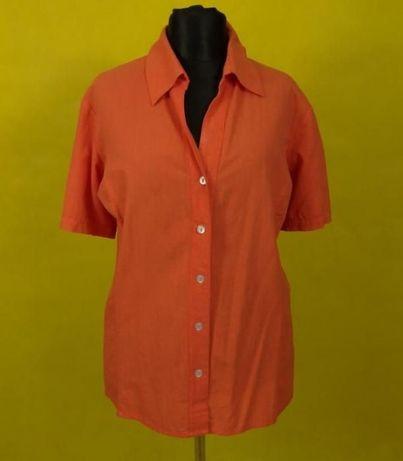 (9) AXEL bawełniana pomarańczowa bluzka 52