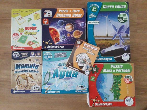Conjunto de atividades Science4you