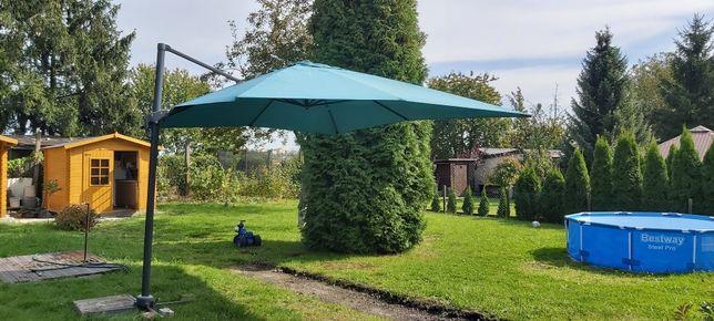 duży parasol ogrodowy 4x3