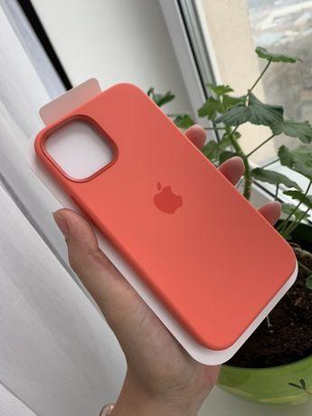 Чехол Apple silicone case для Iphone 12 Pro/12/ 12 Pro Max