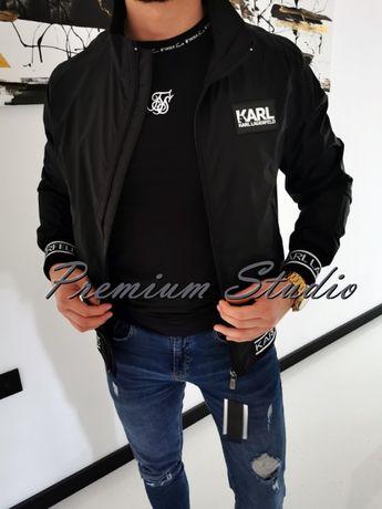 L / Karl Lagerfeld męska kurtka wiatrówka cienka