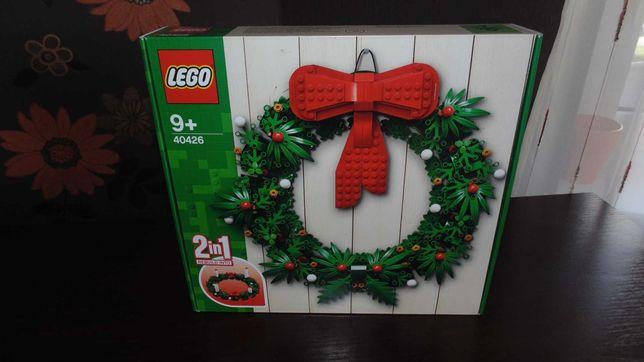 Lego Iconic - Bożonarodzeniowy wieniec 2w1 (40426)