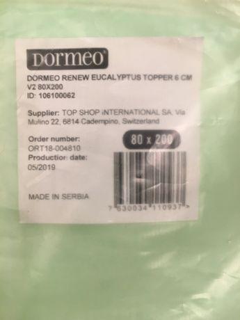 materac nawierzchniowy Dormeo 80x200cm