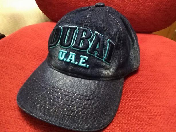 Джинсовая кепка DUBAI бейсболка 100% хлопок