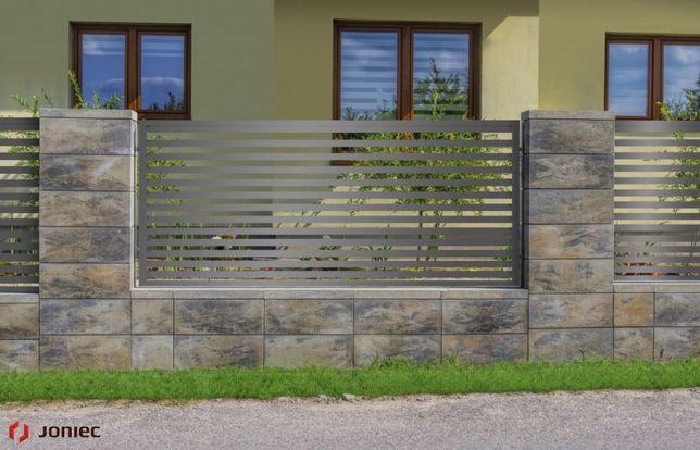 JONIEC horizon, ogrodzenie betonowe, jak beton architektoniczny,