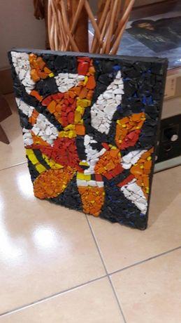 Мозаїчне панно 25×30 см (радянська смальта)