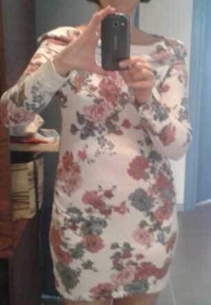 sukienka ciążowa M marki HM