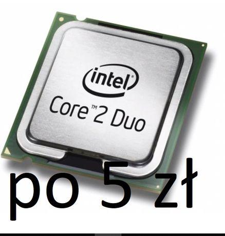 procesory CORE 2 DUO ( różne ) po 5 zł za sztuke