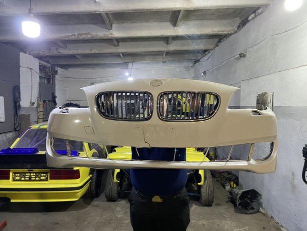 Бампер передний ф10 BMW