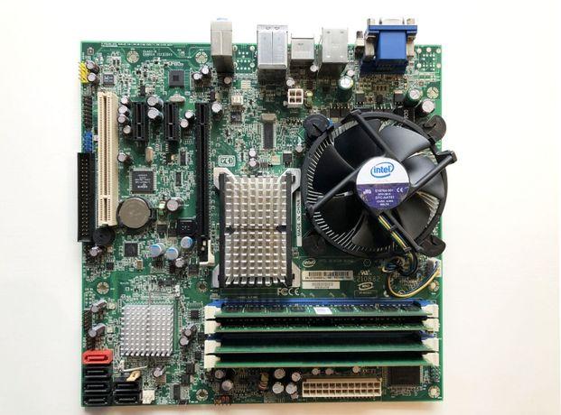 Intel DQ35JOE 775 + C2D E8400 + 5 GB RAM