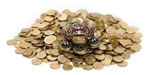 Наполнитель для аквариума, фонтана жёлтые монеты 1 гривна, 50коп.и др.
