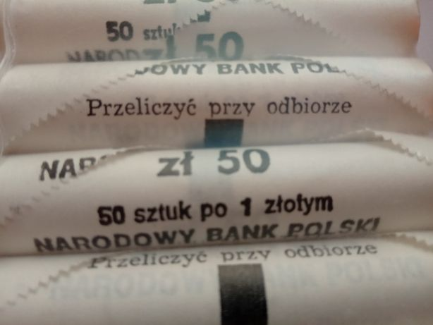 1 zł 1990r PRL rolka bankowa