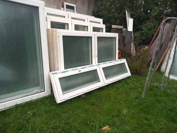 Okna i drzwi balkonowe pcv z demontażu