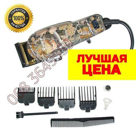 Машинка для стрижки волос Проводная Профессиональная Gemei PRO Триммер