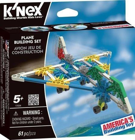 Klocki konstrukcyjne k'nex samolot 67 el. knex