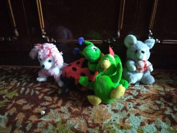 м'які іграшки тварини