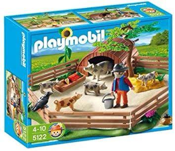 Playmobil Country 5122 Vedação e Criador de Porcos