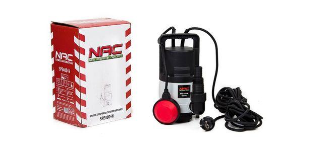Pompa Do Wody Brudnej Nac SPE 40D-N o Mocy 400W