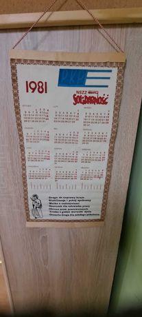 nszz solidarność 1981 kalendarz pkp