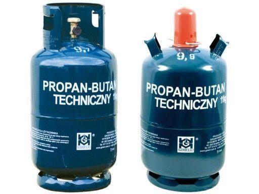Gaz propan butan 11 kg butla gazowa