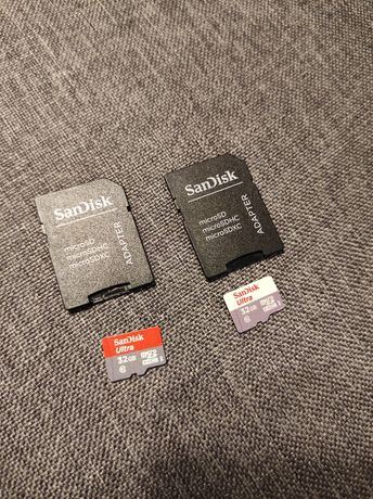Karty microSD 32GB Sandisk, microSD