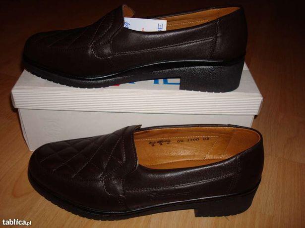 NOWE buty skórzane rozm. 41