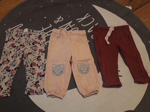 Ubranka dla dziewczynki 68 74 80
