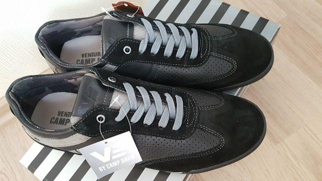 Кожаные кроссовки  фирмы Camp David 40р,стелька 26,5см,оригинал.