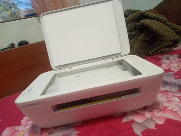 Сканер-принтер HP цветной