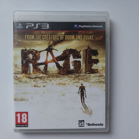 Gra Rage grom The creators of dom nad quake PS3