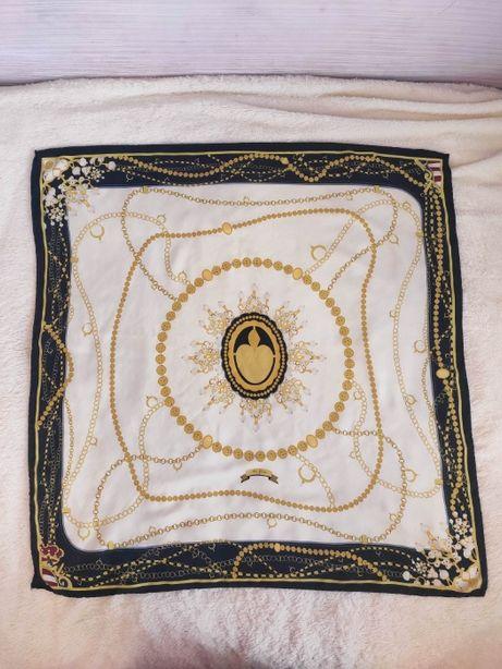 art go'den платок винтажный шелковый шов роуль