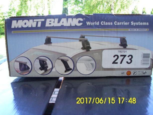 Sprzedam nowy bagażnik samochodowy szwedzkiej firmy Mont Blanc