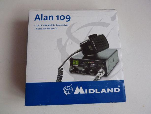 SUPER CB Radio Midland Alan 109 RF nowe