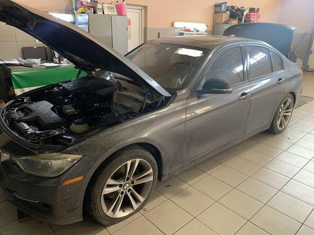 Разборка BMW 328 F30 B39 USA дверь четверть жопа крыло сидение подушка