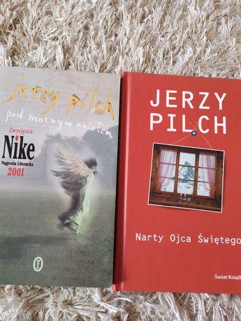 2 x Jerzy Pilch Pod mocnym aniołem + Narty Ojca  Świętego