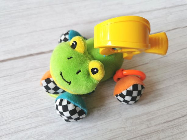 Canpol Babies Sensoryczna zawieszka do wózka Żabka wibrująca