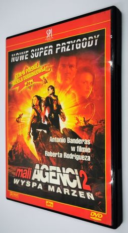 Mali Agenci 2 Wyspa Marzeń [2002] Film DVD