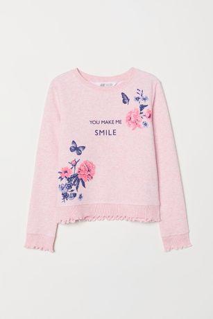 Свитшот фирмы H&M для девочки