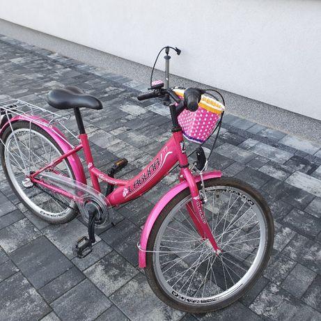 Rower Laguna, dziecięcy, 24 cale, idealny dla dziewczynki