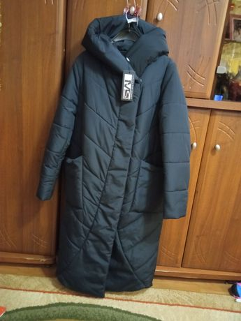 Фирменная женская зимняя куртка одеяло Mangust 46 размер графит